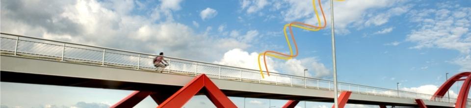 Meten van deformaties bij bruggen via INSAR