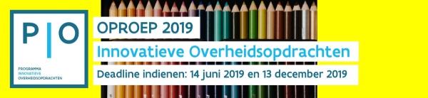 Nieuwe PIO-oproep 2019
