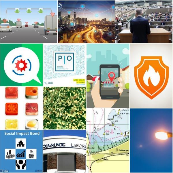 Innovatieve overheidsopdrachten: maak kennis met de 12 goedgekeurde projecten