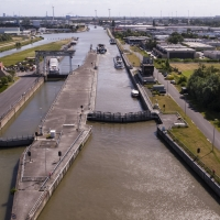 Predictive maintenance on lock gates by artificial intelligence (AI)