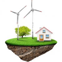 Acceleration of energy transition by wind