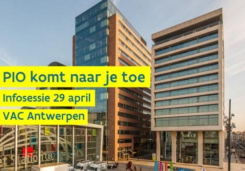 VAC Antwerpen PIO infosessie