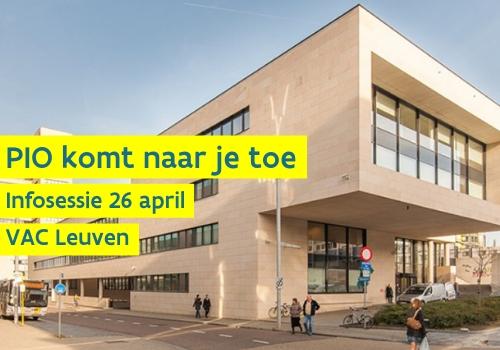 VAC Leuven Pio infosessie